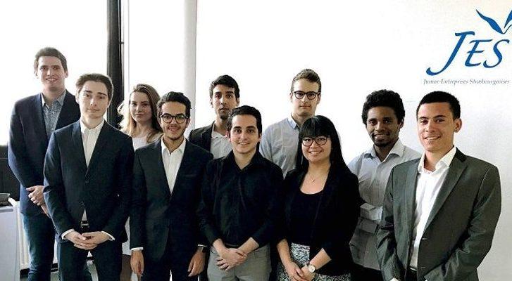Lancement des juniors entreprises strasbourgeoises